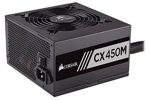 Corsair CXM (2015) 450 W 80+ Bronze Certified Semi-modular ATX Power Supply
