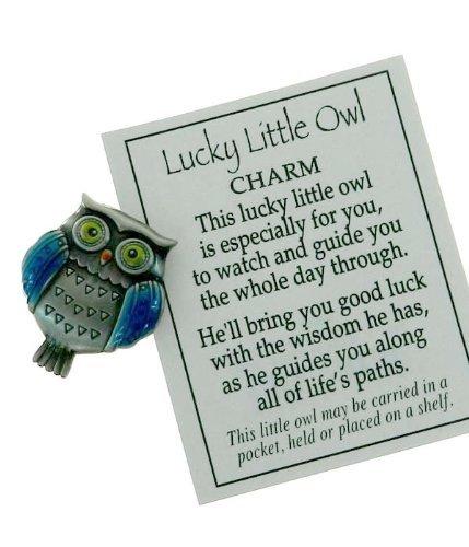 Lucky Little Owl Charm - Lucky Owl