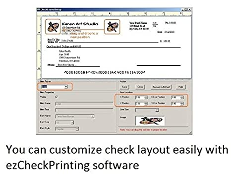 ezCheckPrinting - Business Check Printing Software (for Windows)