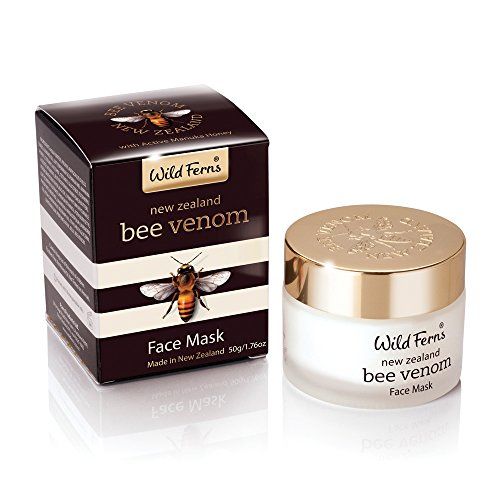 Price comparison product image Wild Ferns New Zealand Bee Venom Mask with Active Manuka Honey