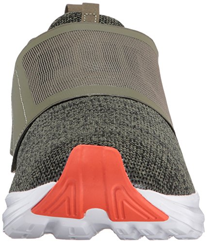 PUMA Men's Enzo Strap Knit Sneaker Olive Night-cherry Tomato sale shop 2015 new cheap price outlet countdown package clearance outlet locations QcRs6Nd