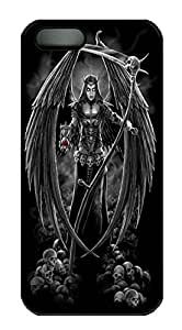 iPhone 5 5S Case Games Angel PC Custom iPhone 5 5S Case Cover Black