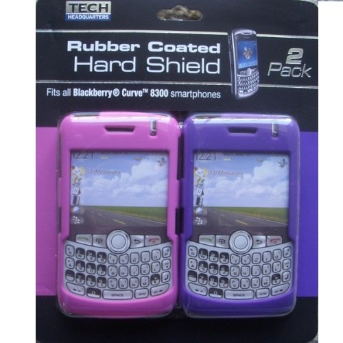 Blackberry Rubber Coated Hard Shield Fits All Curve 8300 Smartphone