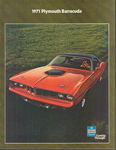 1971 Plymouth Barracuda brochure 'Cuda Grand Coupe Convertible (Coupe Barracuda)