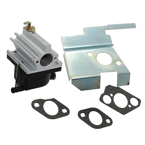 non-brand Sharplace Kit Carburador de Motor con Juntas Cortacésped Herramienta Eléctrica de Exterior para