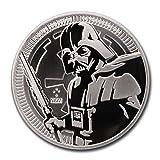 2019 NU 1 oz Silver Star Wars Darth Vader $2