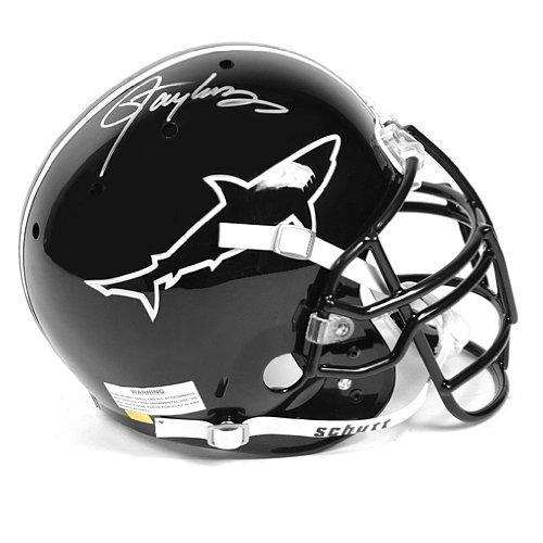 Football Lawrence Autographed Taylor - Lawrence Taylor Autographed Any Given Sunday Authentic Football Helmet