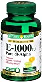 Nature's Bounty Vitamin E 1000 IU Softgels Pure DL-Alpha 60 Soft Gels (Pack of 4)