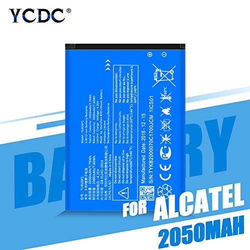 YCDC Original TLI020F1 Battery for TCL J728T J726T Alcatel One Touch Pop 2 2050mAh,TLI020F1 2050MAH Battery for ALCATEL POP 2 5042D OT-5010D TCL J720 J726T J728T
