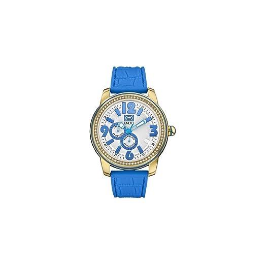Marc Ecko Reloj analógico para Unisex de Cuarzo con Correa en Silicona E13544G5: Amazon.es: Relojes