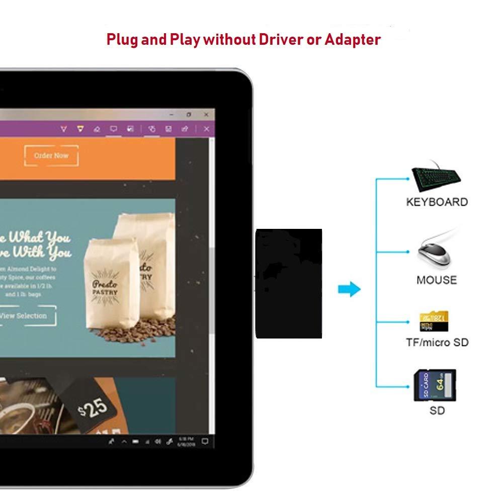 Amazon.com: USB C Memory Card Reader(OTG, VOASTEK Portable ...