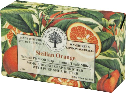 Wavertree & London Sicilian Orange luxury soap (1 - Orange Soap