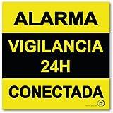 ☆Pegatina Alarma CONECTADA Varios Modelos DISUASORIOS ...