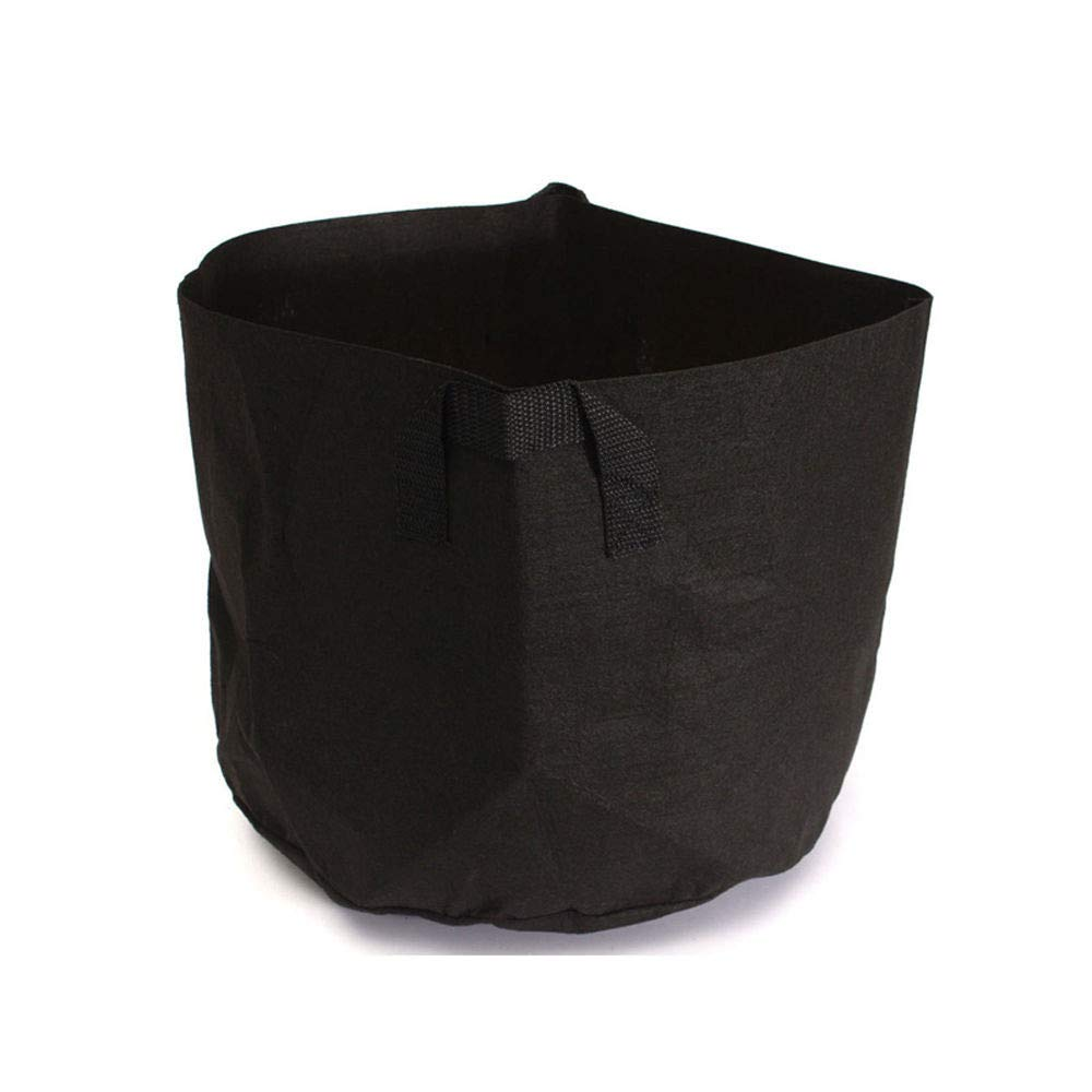 certainPL Grow Bags, Root Pouch, 1 to 7 Gallon Flower Plant Hydroponic Fabric Pot Container with Handles (2 Gallon)