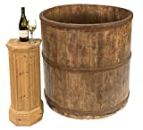 Sarreid SA-JYZ061 French Grade Wine Making Barrel 120 Yrs, Red