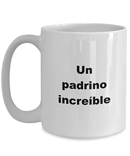 Amazon.com: Padrino Regalos tazas de Bautizo Boda para ...
