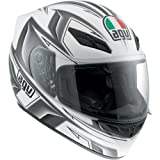 AGV K4 EVO Arrow Helmet , Distinct Name: Arrow Gunmetal, Gender: Mens/Unisex, Helmet Category: Street, Helmet Type: Full-face Helmets, Primary Color: Gray, Size: Md 0031O2C008007