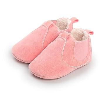 Morbuy Bebe Zapatos de Primeros Pasos Otoño e Invierno 0-18 Meses Recién Nacido Cuna. Pasa ...