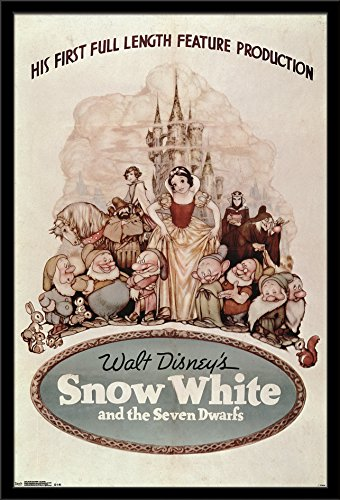 Trends International Wall Poster Snow White One Sheet, 24 x
