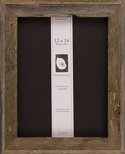 Frame USA 12x16 Barnwood Shadow Box