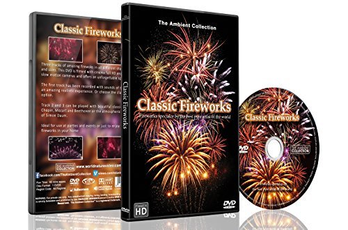 Classic Fireworks 2016 DVD with Music and Pyrotechnic Sounds Recorded on Actual Fireworks Show B01M34QI1N