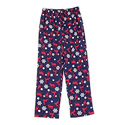 Discount Club Room Mens Snow Deer-Print Pajama Lounge Pants for cheap