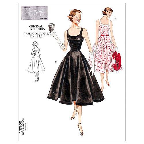 Vogue Pattern V2902 Misses'/Misses' Petite Dress, Size A ...