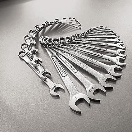 81923 GearWrench 28 PC 6 Point Combination SAE//Metric Wrench Set