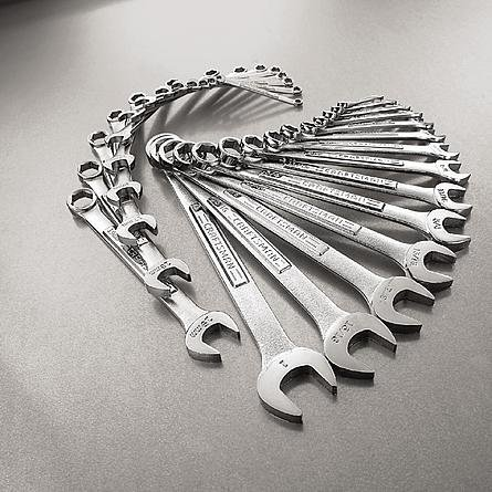 Combination Wrench Set 6,8-15 mm Craftsman 9 Piece Metric 12 pt