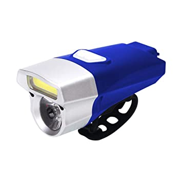 Dixinla Luz de Bicicleta USB Cargador Linterna Impermeable ...