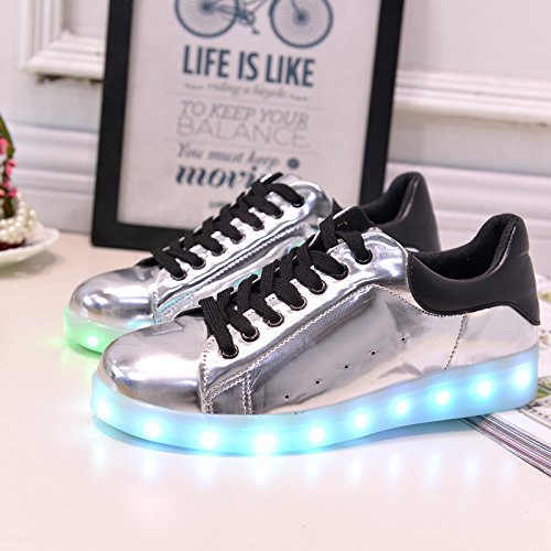 Light Big Shoes Charging Girls Childrens Shoes USB Boy Shoes Lighted Emitting Shoes Boys c9 LED Shoes Style Small Luminous Sports Towel Z4wBxqYwa