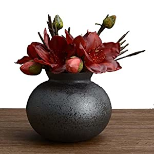 Artificial Flower 1 Bounquet Artificial Kapok for Home Decor Without Vase & Basket, 1 Flower, Red 53