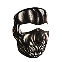 ZANheadgear - Máscara de Neopreno, Máscara Completa, Ancient Skull, Adult/Unisex