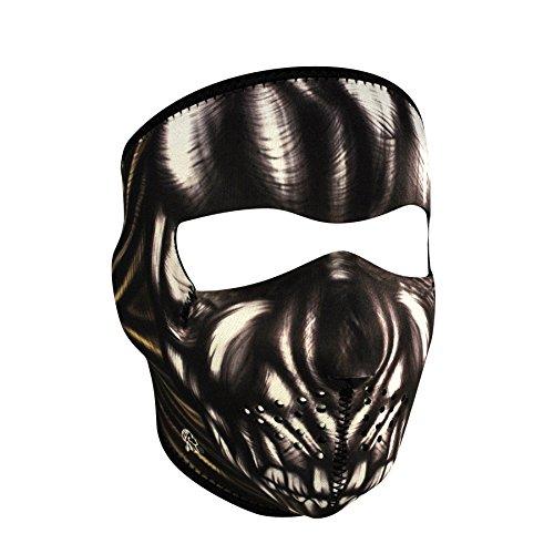 Zanheadgear Neoprene Full Face Mask, Ancient (Skull Mask Ancient)