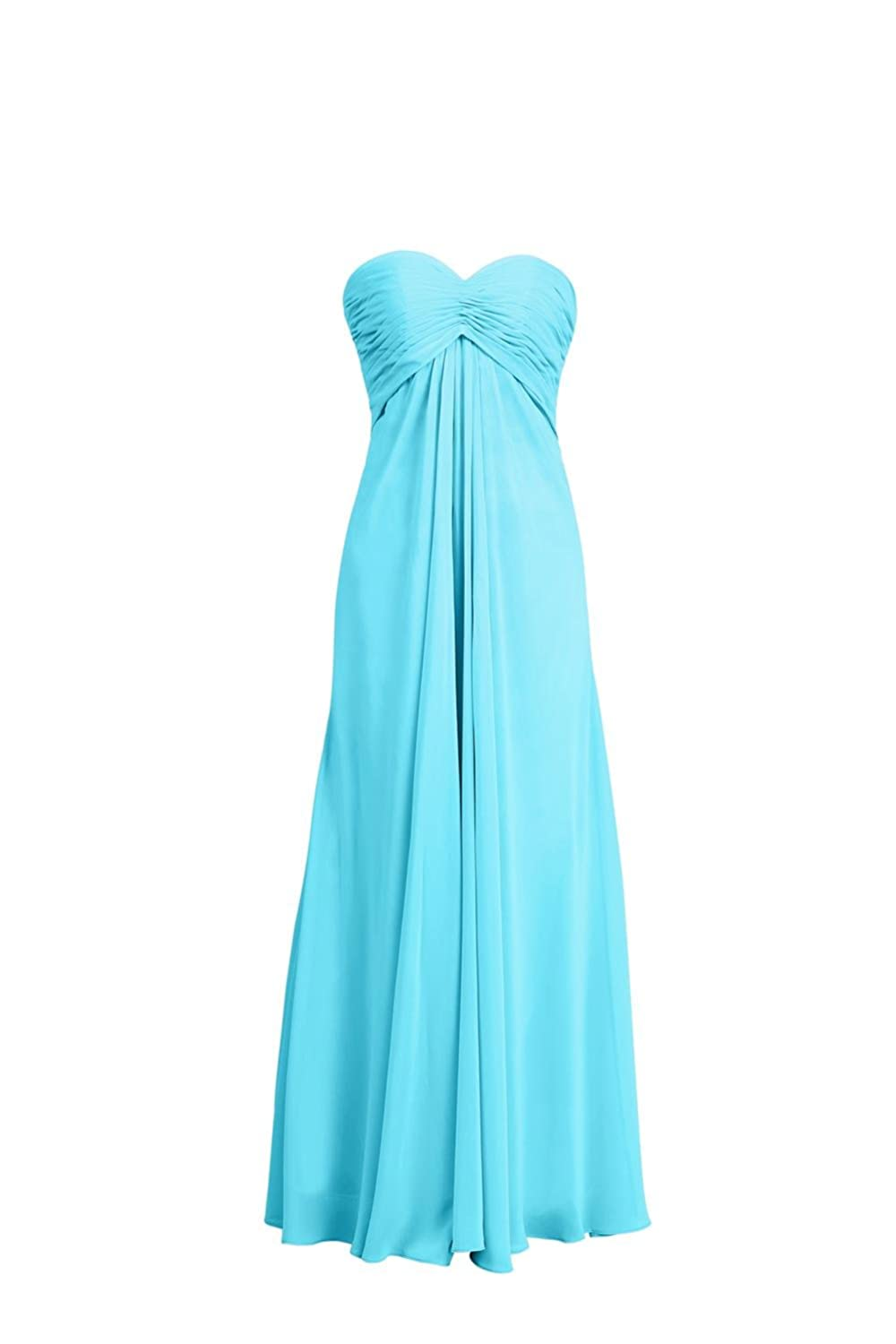 YiYaDawn Women's Backless Prom Party Dress Long Evening Gown