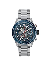 Tag Heuer Carrera Skeleton Dial Automatic Men's Chronograph Watch CAR201T.BA0766