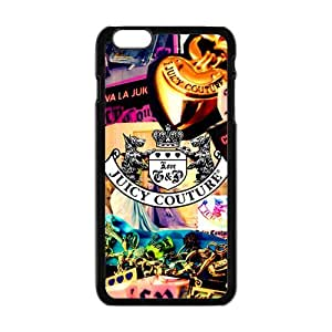 Juicy Couture Fashion Comstom Plastic case cover For Iphone 6 Plus