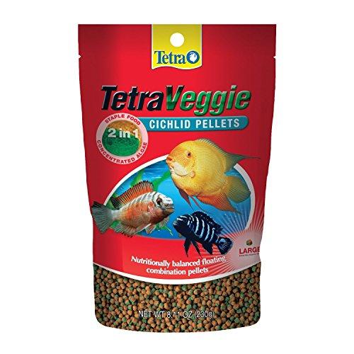 Tetraveggie cichlid pellet fish food for Cichlid fish food