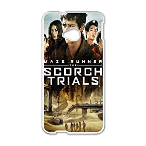 Exquisite stylish phone protection shell HTC One M7 Cell phone case for The Maze Runner pattern personality design
