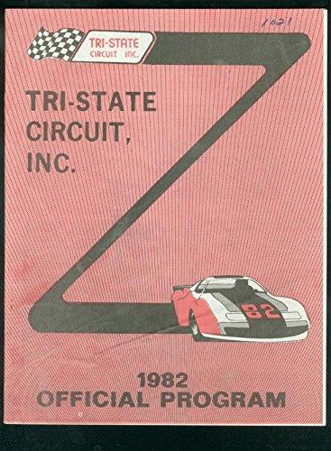 TRI-STATE CIRCUIT RACING PROGRAM-1982-JOE WALLACE DEATH FN