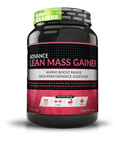 Advance Nutratech Lean Mass Gainer 1Kg (2.2Lbs) Chocolate …