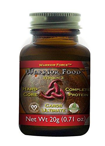 HealthForce SuperFoods Warrior Food Trial Carob 20 Grams Powder