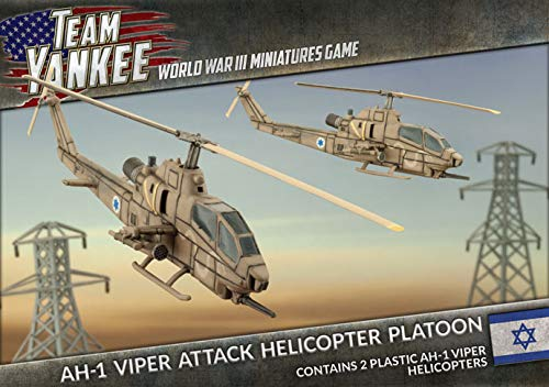 Team Yankee: Israel: AH-1 Cobra (Viper) Attack Helicopter Platoon TIBX09
