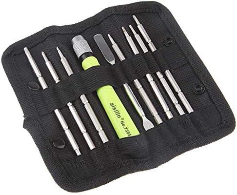9点セット 精密ドライバ スマホ修理 開腹 解体工具セット 専門バッグ付