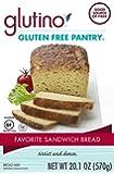 Glutino Gluten Free Pantry Favorite Sandwich Bread Mix, 20.1 oz., 6 Count