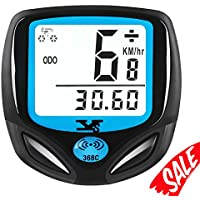 Bike Speedometer Waterproof Wireless Bicycle Bike...