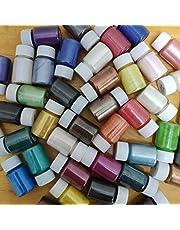 yasu7 41Color Pearlescent Mica Poeder Epoxy Hars Dye Pearl Pigment, DIY Sieraden Maken 10g