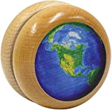Maple Landmark wooden Earth Yo-Yo