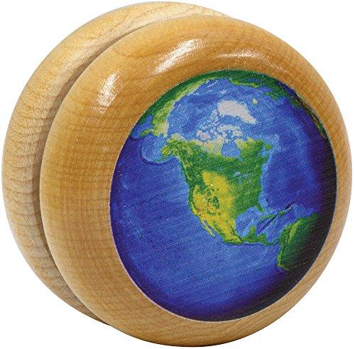 Maple Landmark wooden Earth Yo-Yo