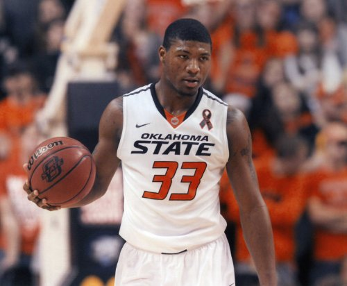 MARCUS SMART OSU COWBOYS BASKETBALL 8X10 SPORTS ACTION PHOTO (W)